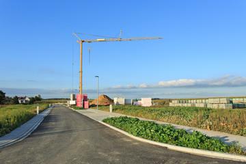 Neubaugebiet am Ortsrand