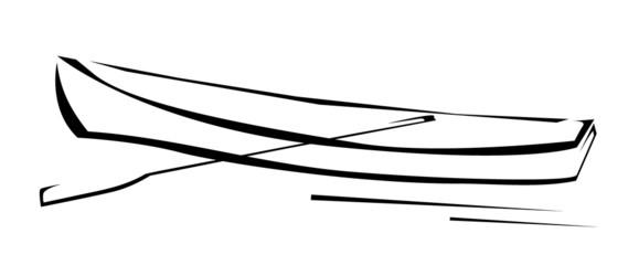 Cano Boat Symbol