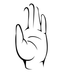 volunteer hands Simple Symbol