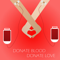 Donate blood,Donate Love