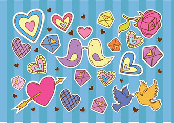 Pattern love element