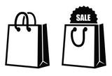 Shopping bag icon - 73084174