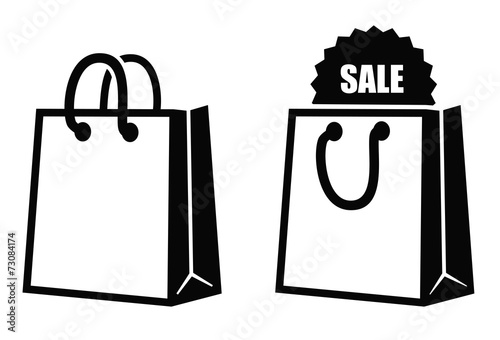 Shopping bag icon - 73084174