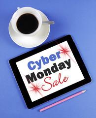 Cyber Monday Sale message