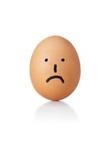 Egg, sad