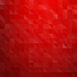 Abstract red color retro background with  triangle