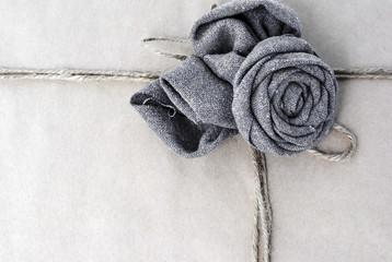 Rose frame paper rope