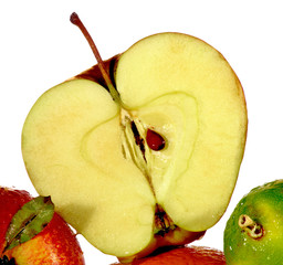 slice of apple