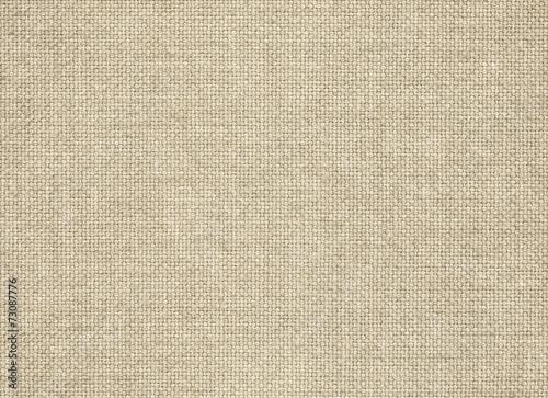 Leinwandbild Motiv Clean brown burlap texture. Woven fabric