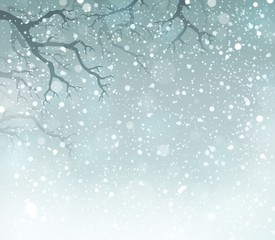 Winter theme background 5