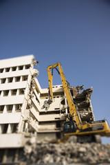 Deconstruction of a building