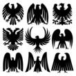 Heraldic Eagles Set
