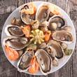seafood platter - 73090550