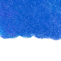 Abstract blue pastel crayon vector background