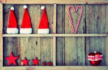 Weihnachtshintergrund - retro