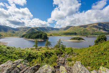 Haweswater from Whiteacre Crag, The Lake District, England