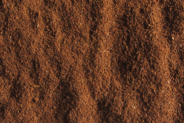 coffee ground texture