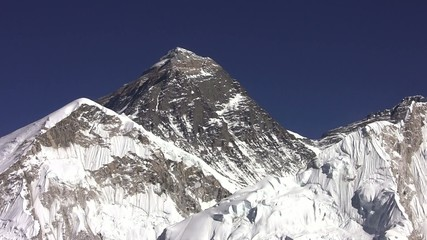 View of Everest. Himalayas. Nepal.