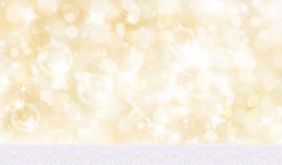 Weihnachtlicher Hintergrund mit Schnee