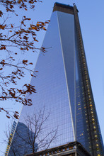 Fotomurales - Views of New York City, USA, Freedom Tower and the World Trade C