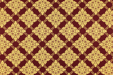 Floral wallpaper pattern abstract seamless background