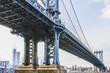 Views of New York City, USA. Manhattan Bridge.