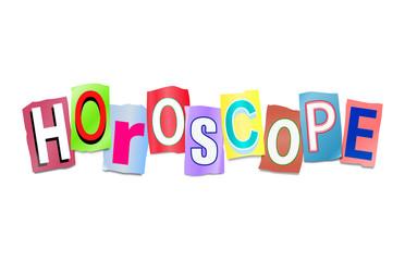 Horoscope concept.