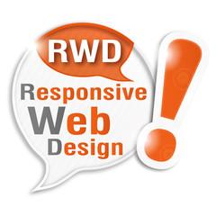 bulle rayée acronyme : RWD