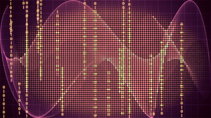 digital technology motion graphic background