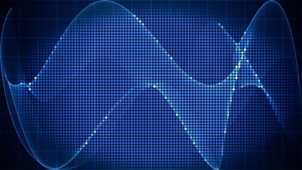 digital technology motion graphic background loop