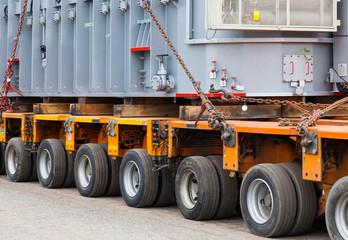 Transport of heavy loads