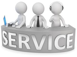 3d Männchen Service