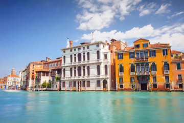 Grand Canal near Academia bridge, Venice, Italy