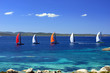 Sailboats regatta racing - 73100544