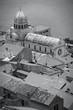 Sibenik, Croatia - monochrome black white photo