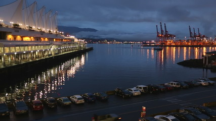 Burrard Inlet Waterfront Dawn, Vancouver