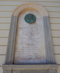 Nietzsche memorial plaque in Turin