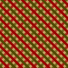 retro wrapping paper for Christmas gifts. Seamless pattern