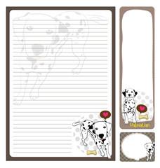 paper note_dalmatian
