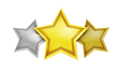 three star rating service