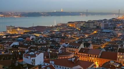 Lisbon, Portugal. Timelapse