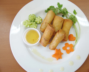Fried Egg Rolls