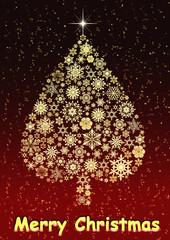 Maryy Christmas treegolden