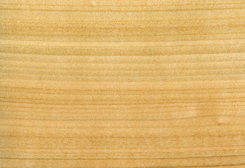 Surface of yellow wooden plate