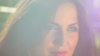 beautiful fashion model overwhelming light dream