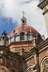 Dome of Church of San Juan el Real in Oviedo