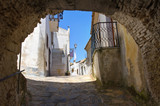 Fototapety Alleyway. Rocca Imperiale. Calabria. Italy.