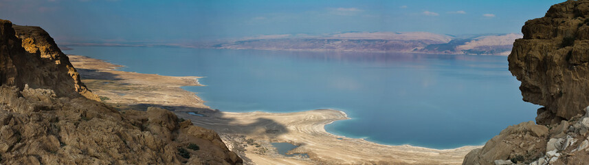 Dead Sea panorama.