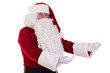 Santa Claus shows gesture