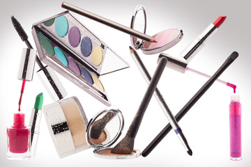 Make-up. Beauty Concept.